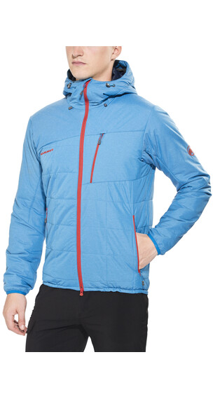 Mammut Alvier IS jakke Hooded blå